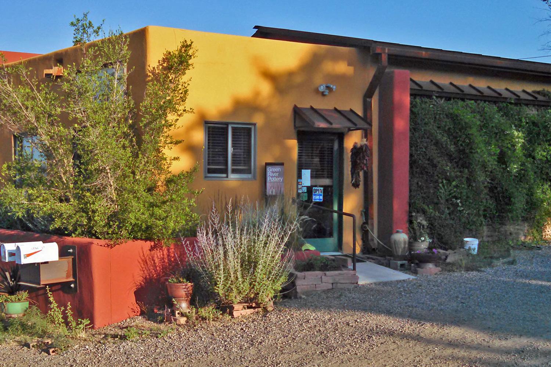 Green River Pottery studio gallery Santa Fe New Mexico