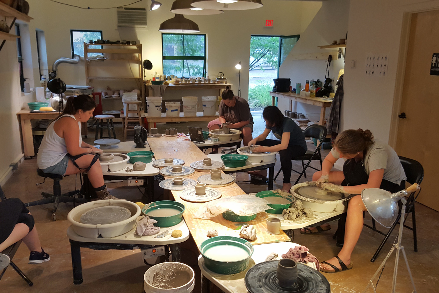 Open House Green River Pottery July 21 2018