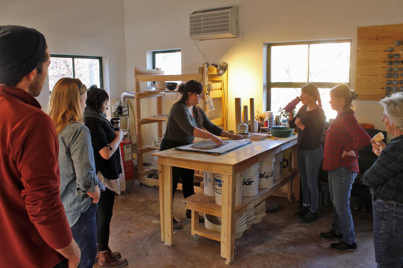 pottery class schedule santa fe