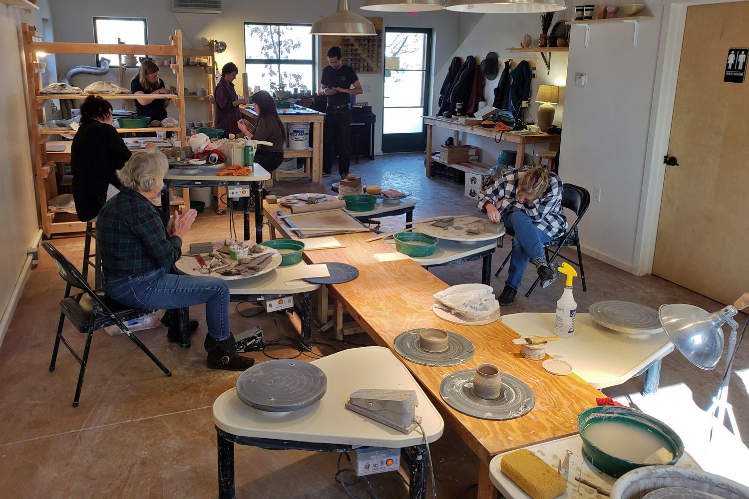 Green River Pottery studio rental