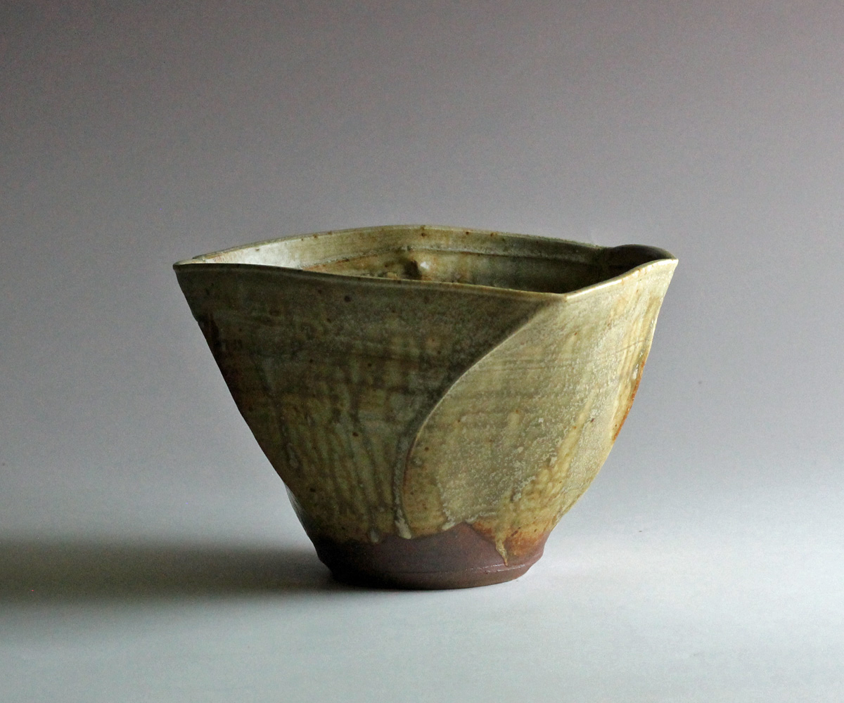 Woo Yellow stoneware bowl