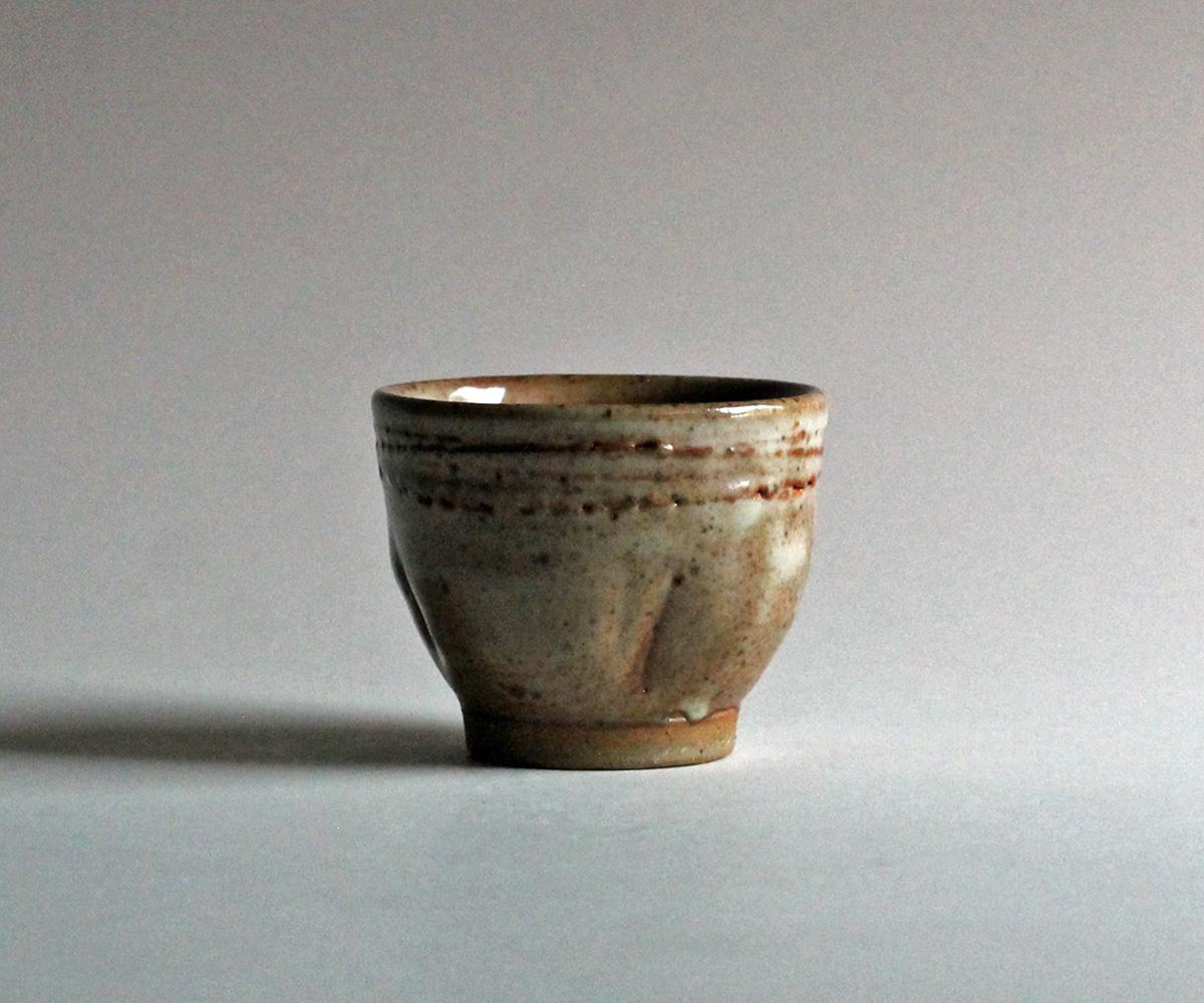 stoneware cup jenny lind shino