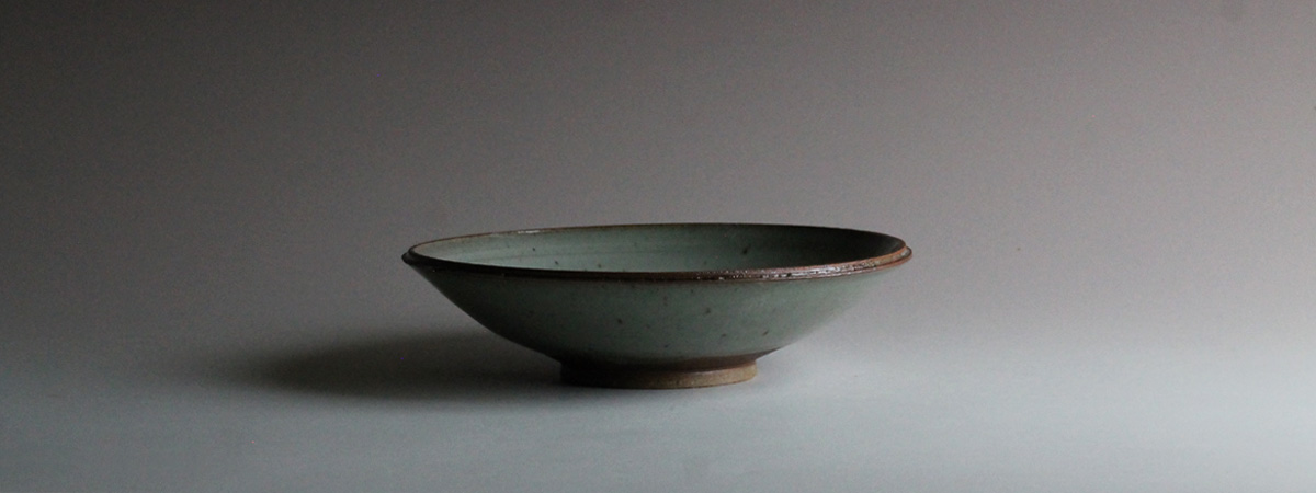 stoneware bowl celadon glaze