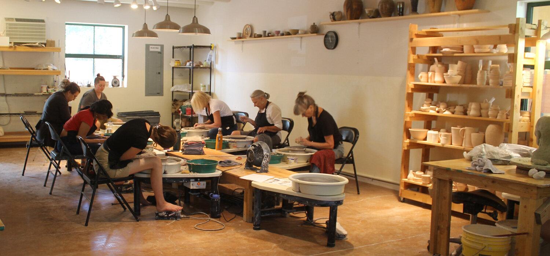 weekly pottery class Santa Fe nm