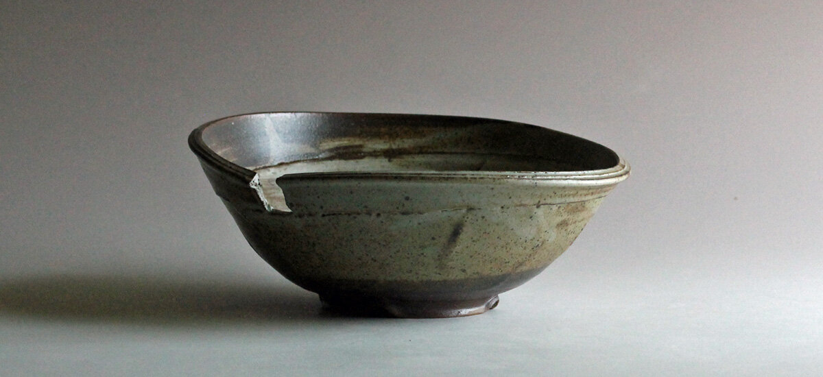 thrown & altered bowl, November 2019. click to view in shop