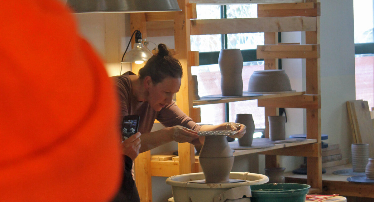 Santa Fe NM pottery workshop