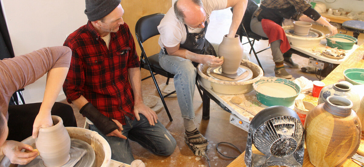pottery wheel clay workshop santa fe nm