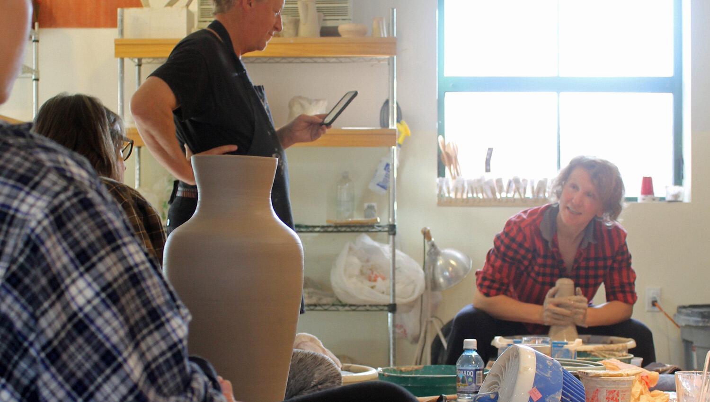 Green River Pottery wheel workshop 2020