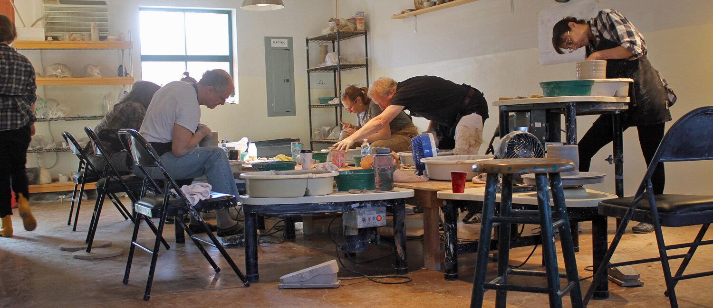 ceramics workshop lena street lofts santa fe nm