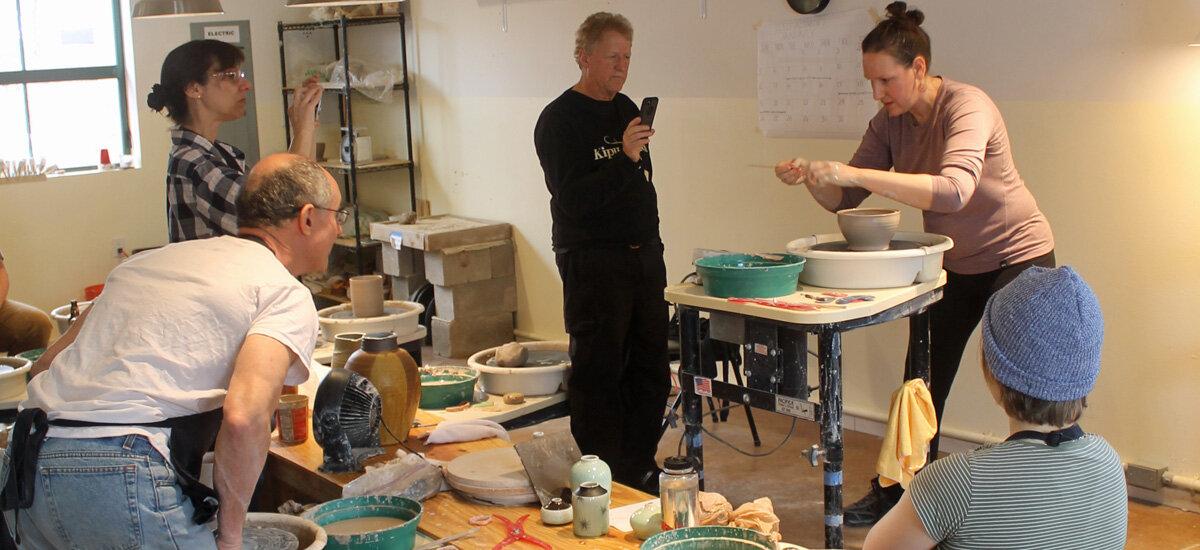 pottery class santa fe nm