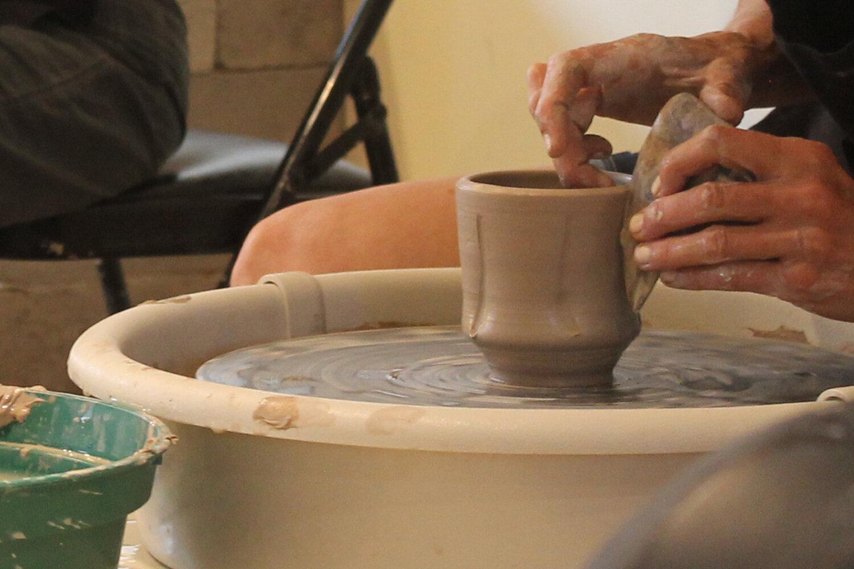 Santa Fe New Mexico potter's wheel rental