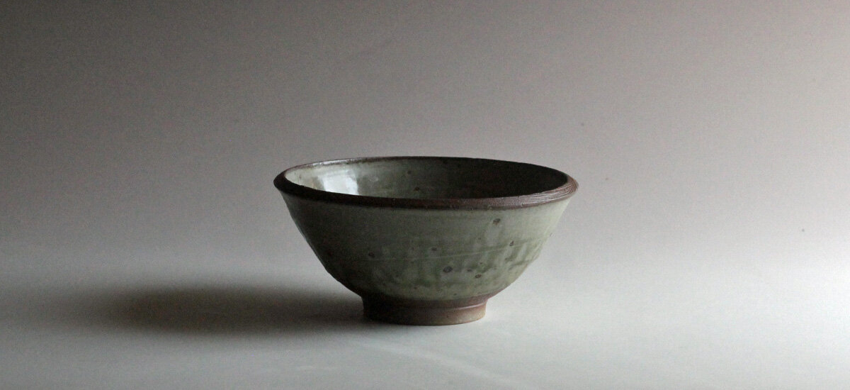 Bowl with ash glaze July 2020