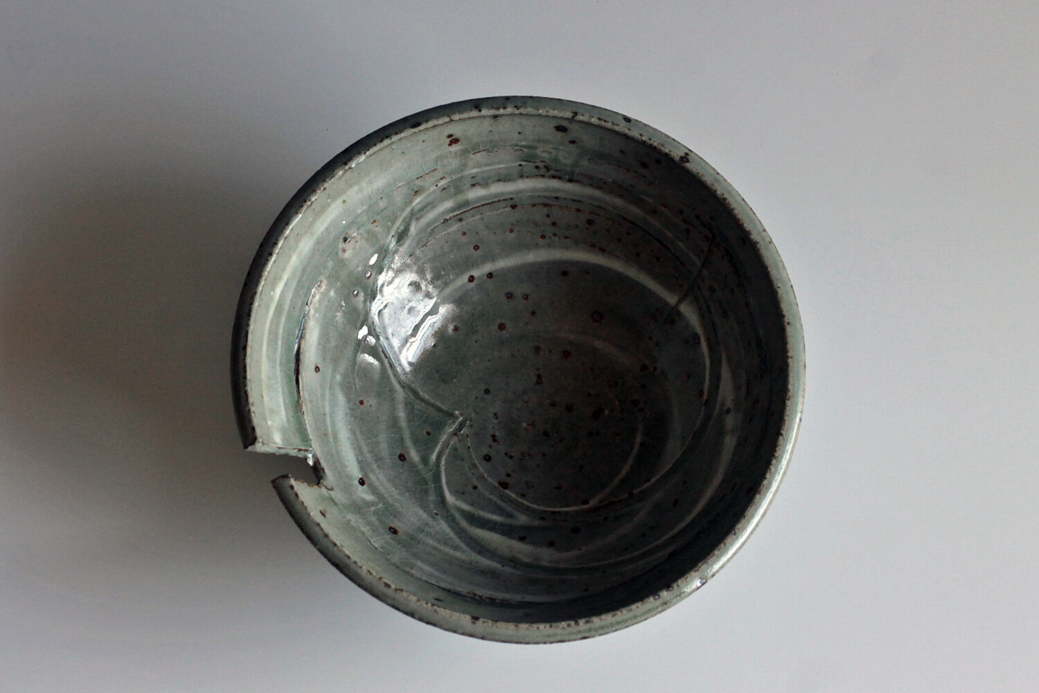 here is the caption - new from the kiln this month