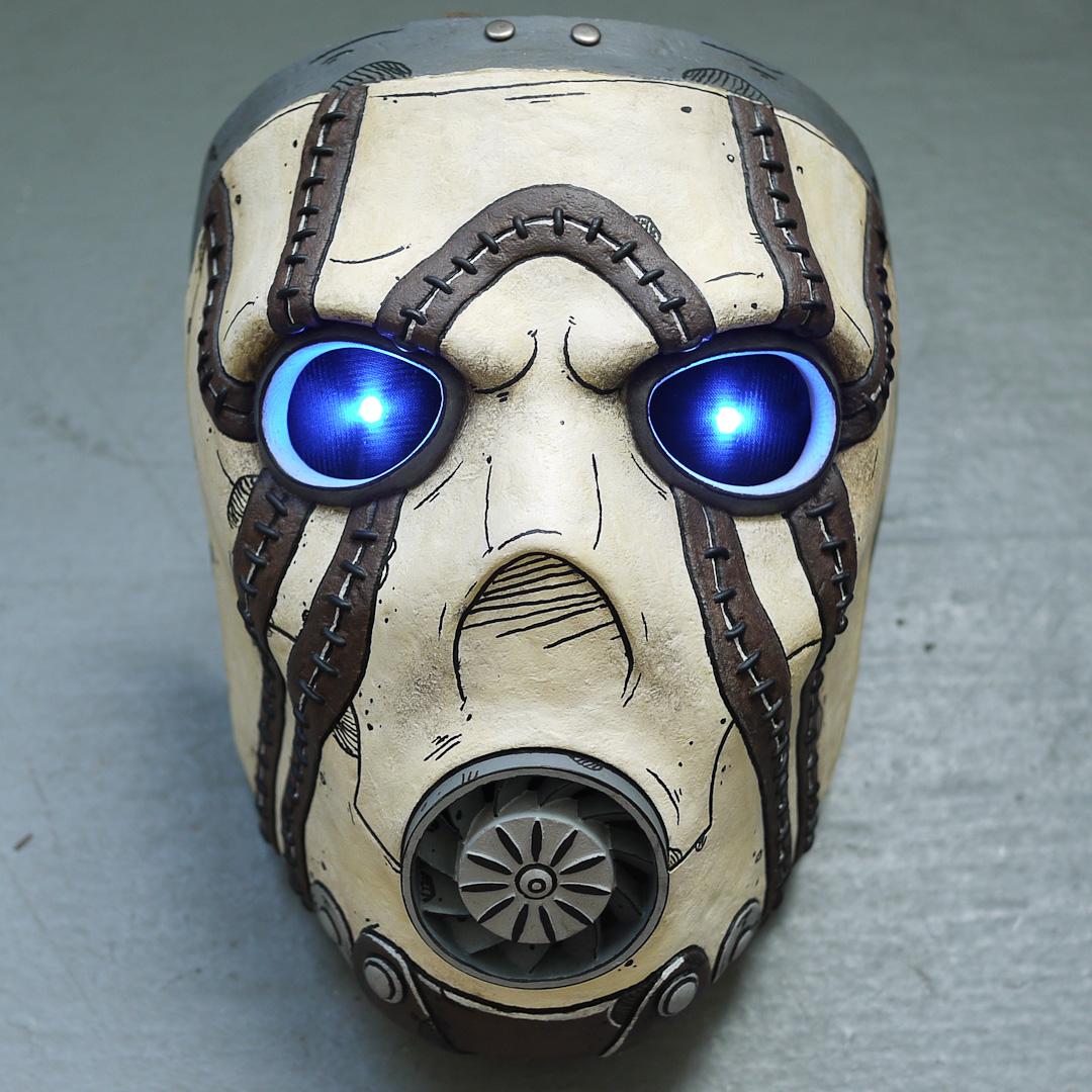 Borderlands Psycho Bandit Mask Replica Front View