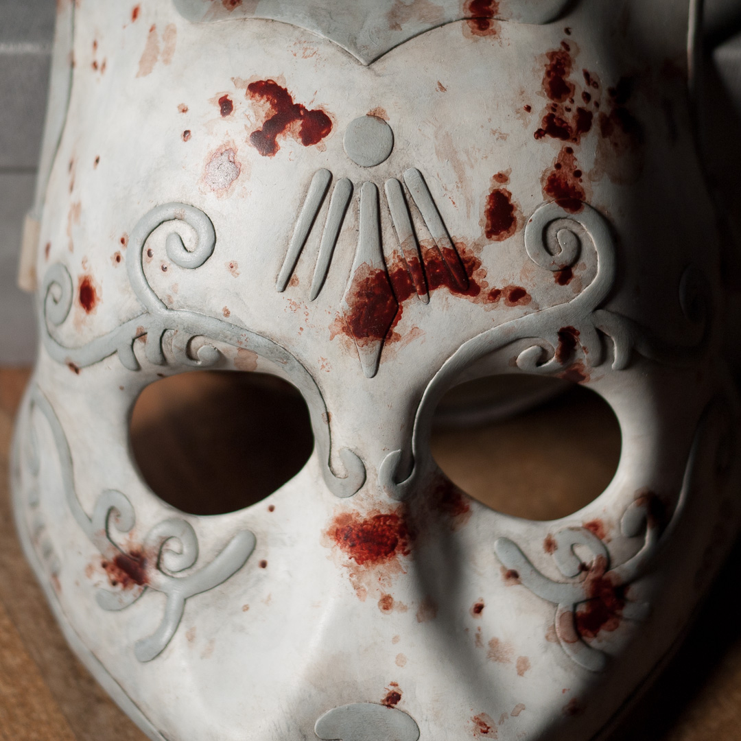 Bioshock Splicer Mask Replica Close-Up View