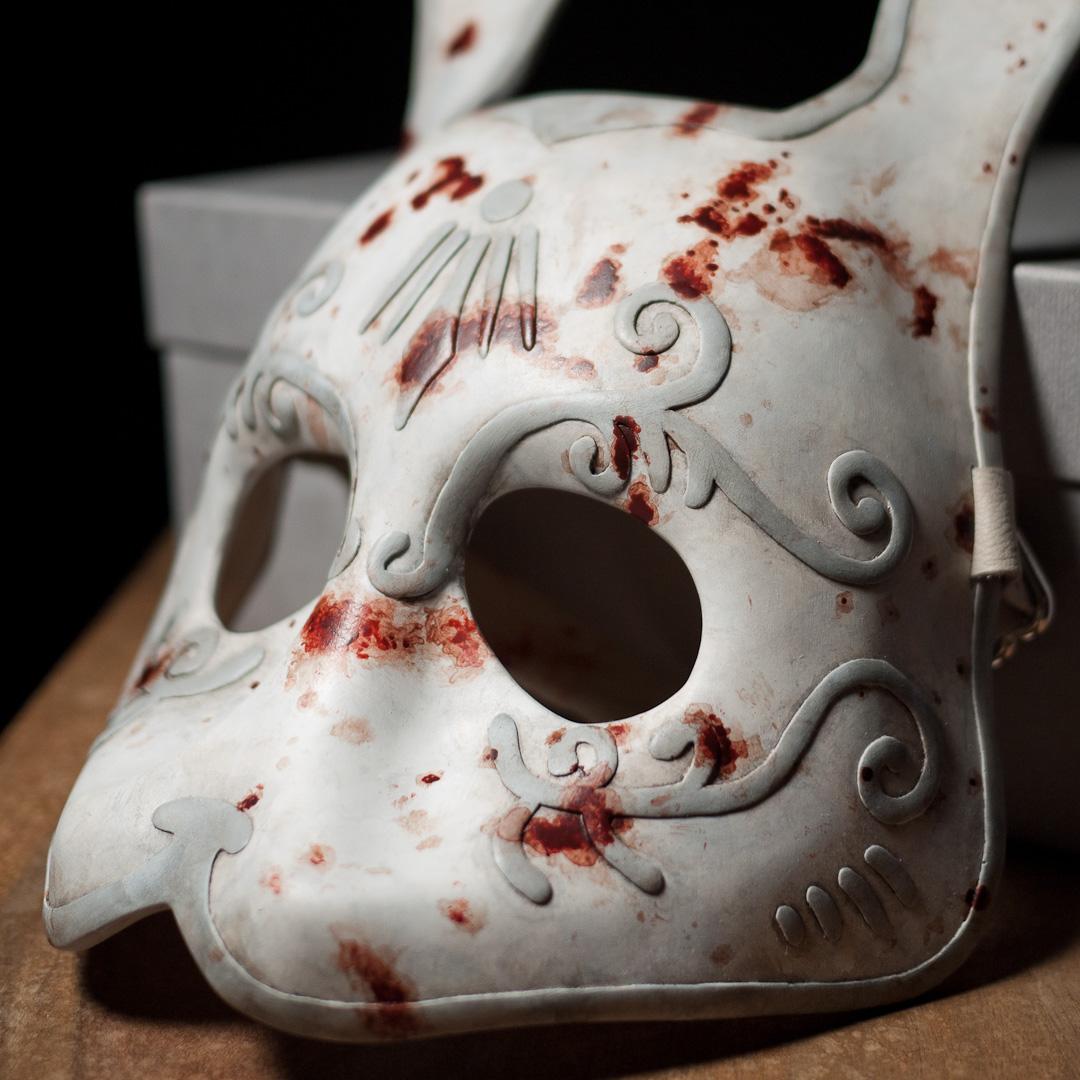 Bioshock Splicer Mask Replica Three-Quarter View