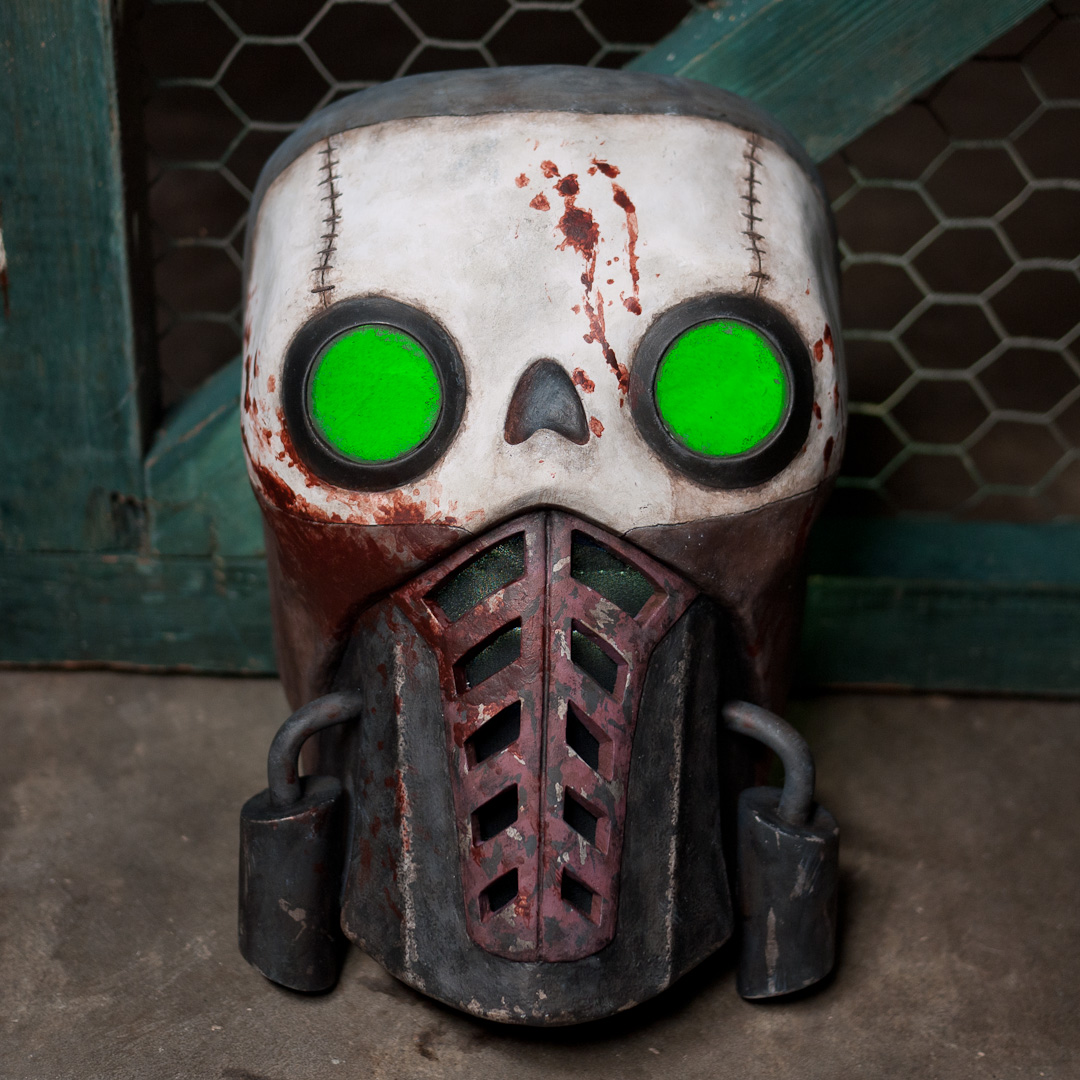 Borderlands 2 Bandit Steve Mask Replica Front View
