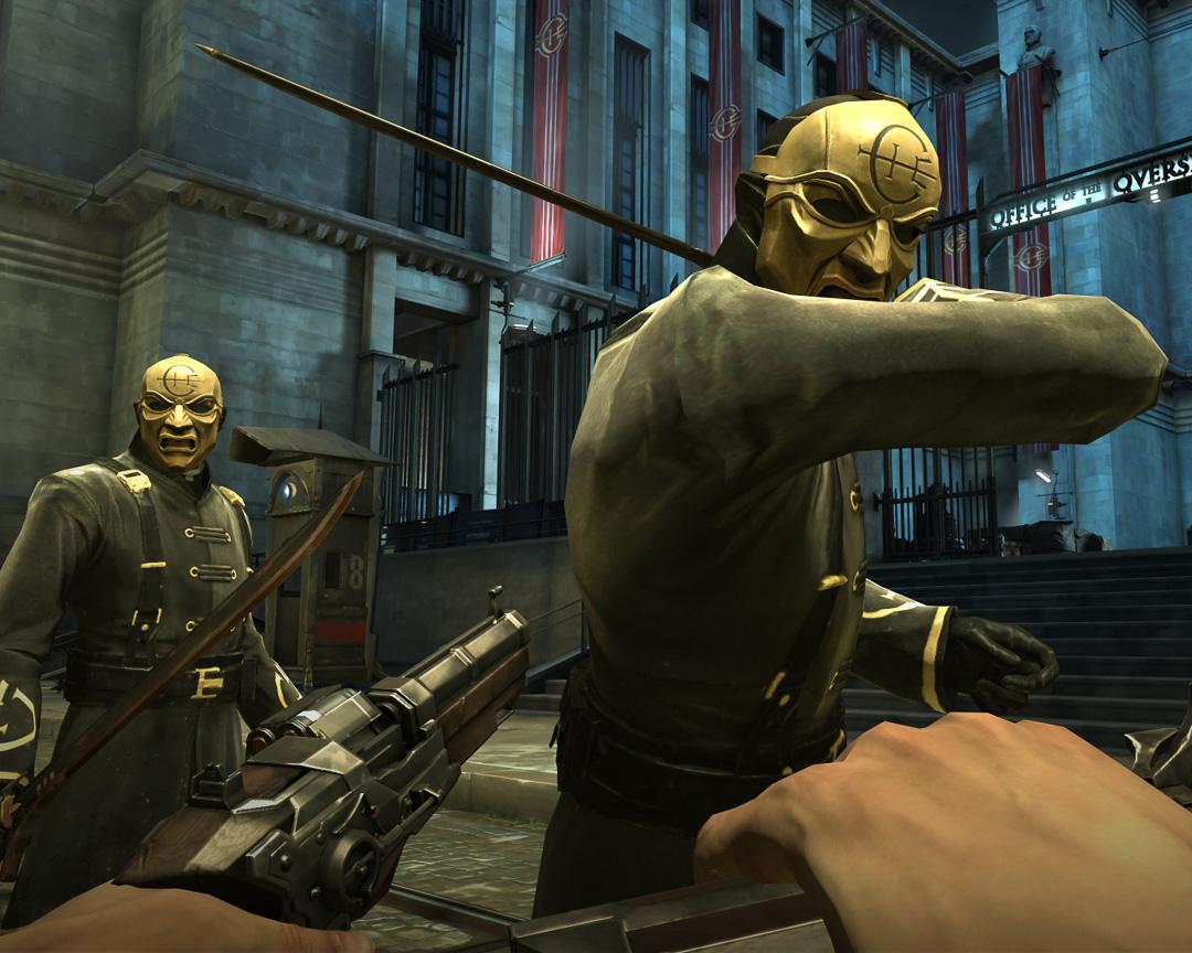 Screen capture of Dishonored Overseer