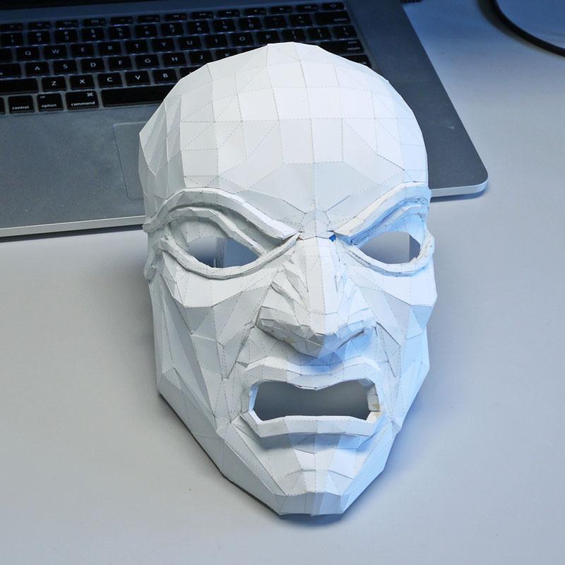 Dishonored Overseer mask Pepakura model