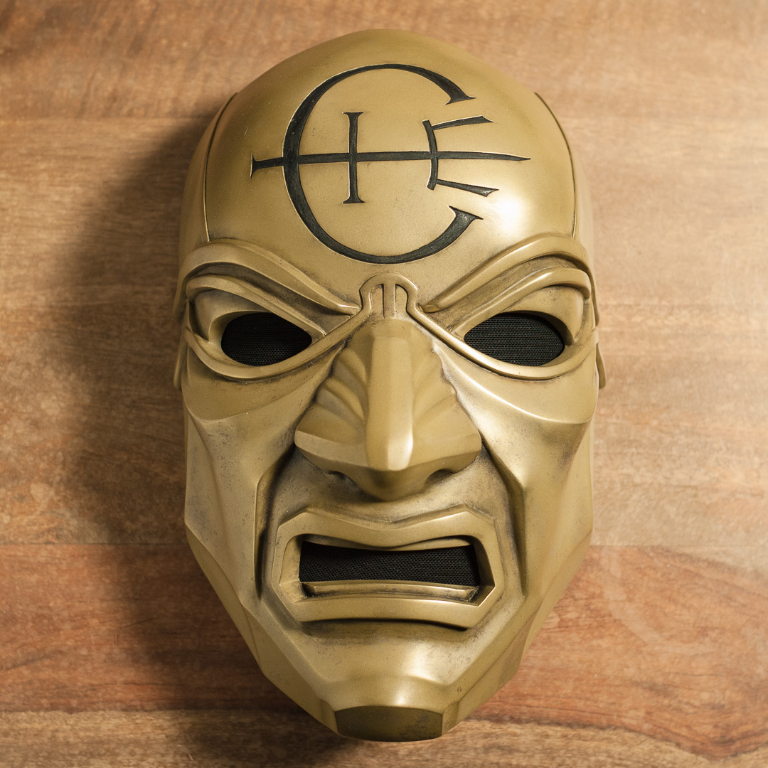 Dishonored Overseer mask complete