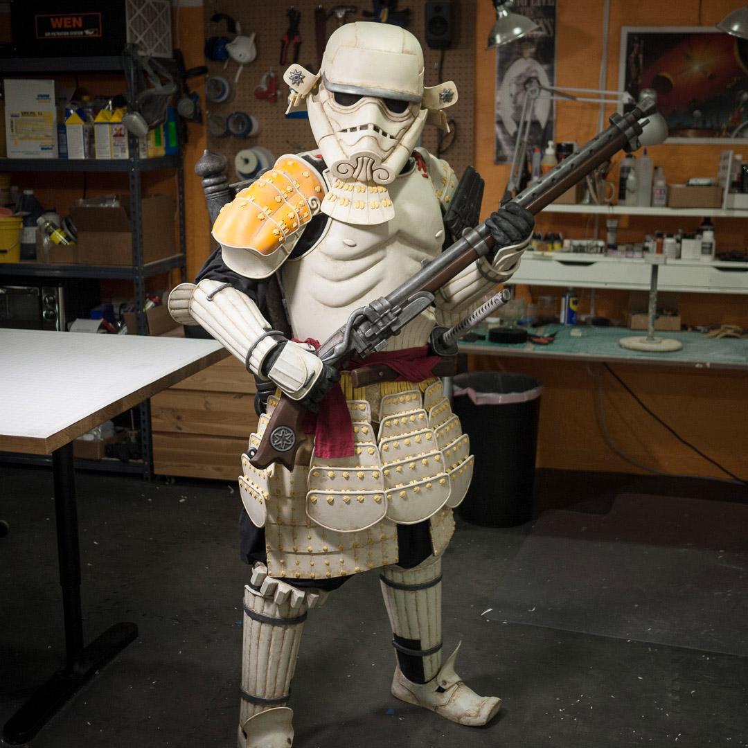 Meisho Movie Sandtrooper Foam Costume
