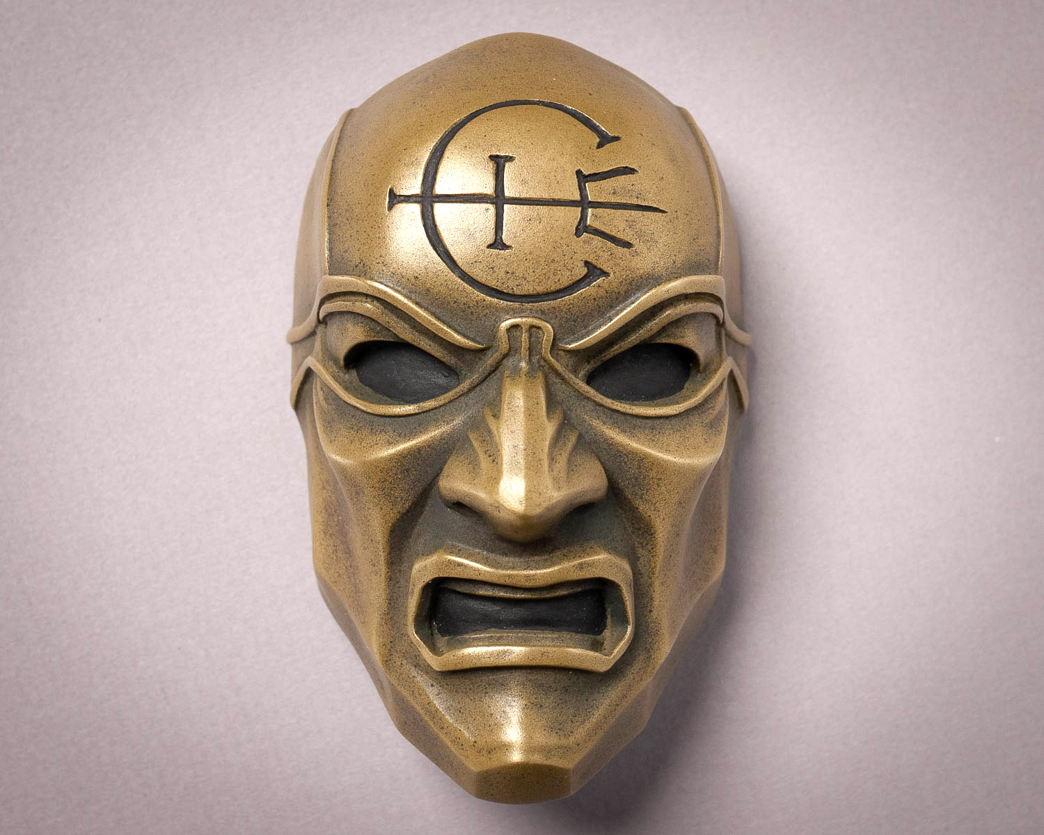 Dishonored Overseer Mini Mask Magnet Front View