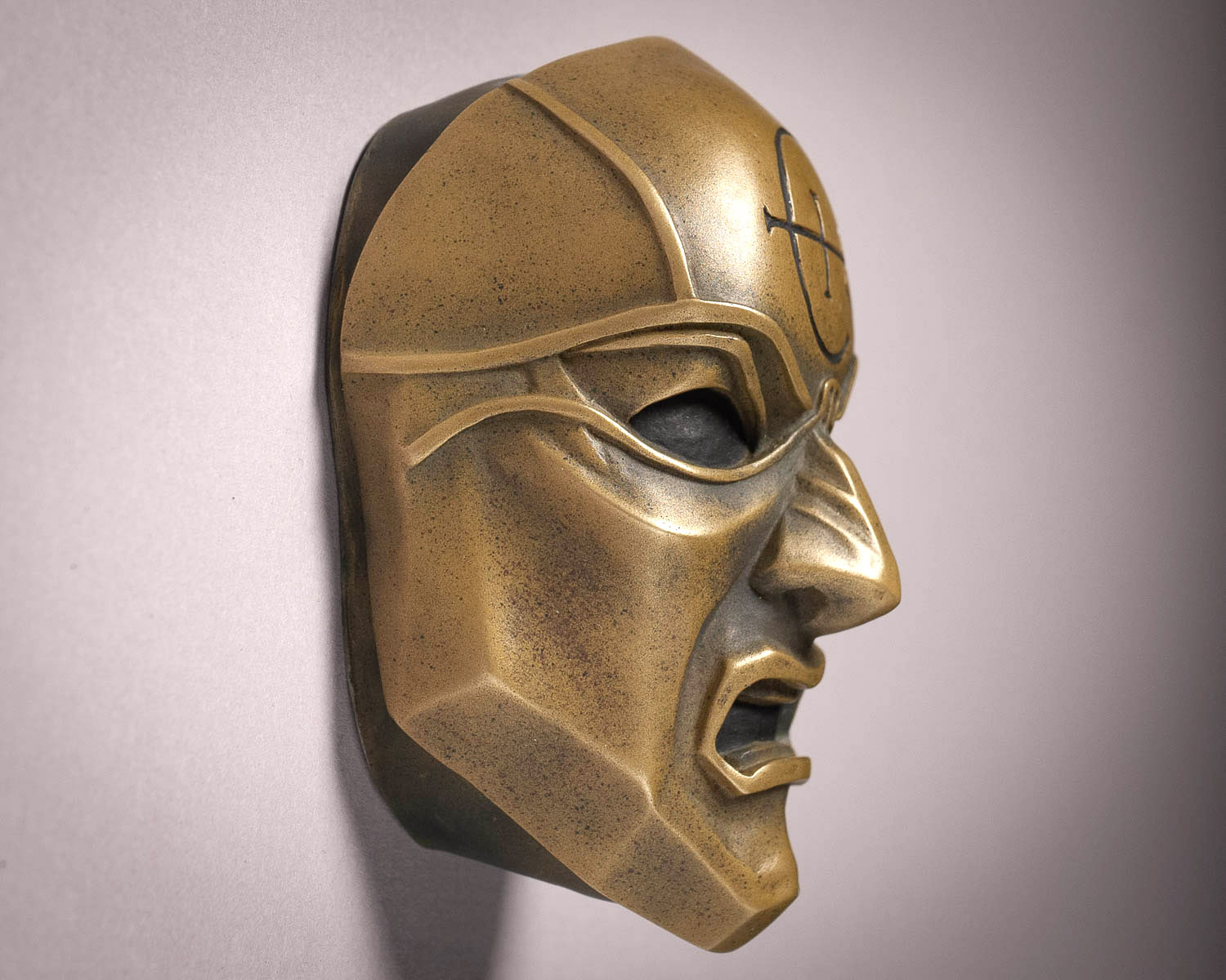 Dishonored Overseer Mini Mask Magnet Side View