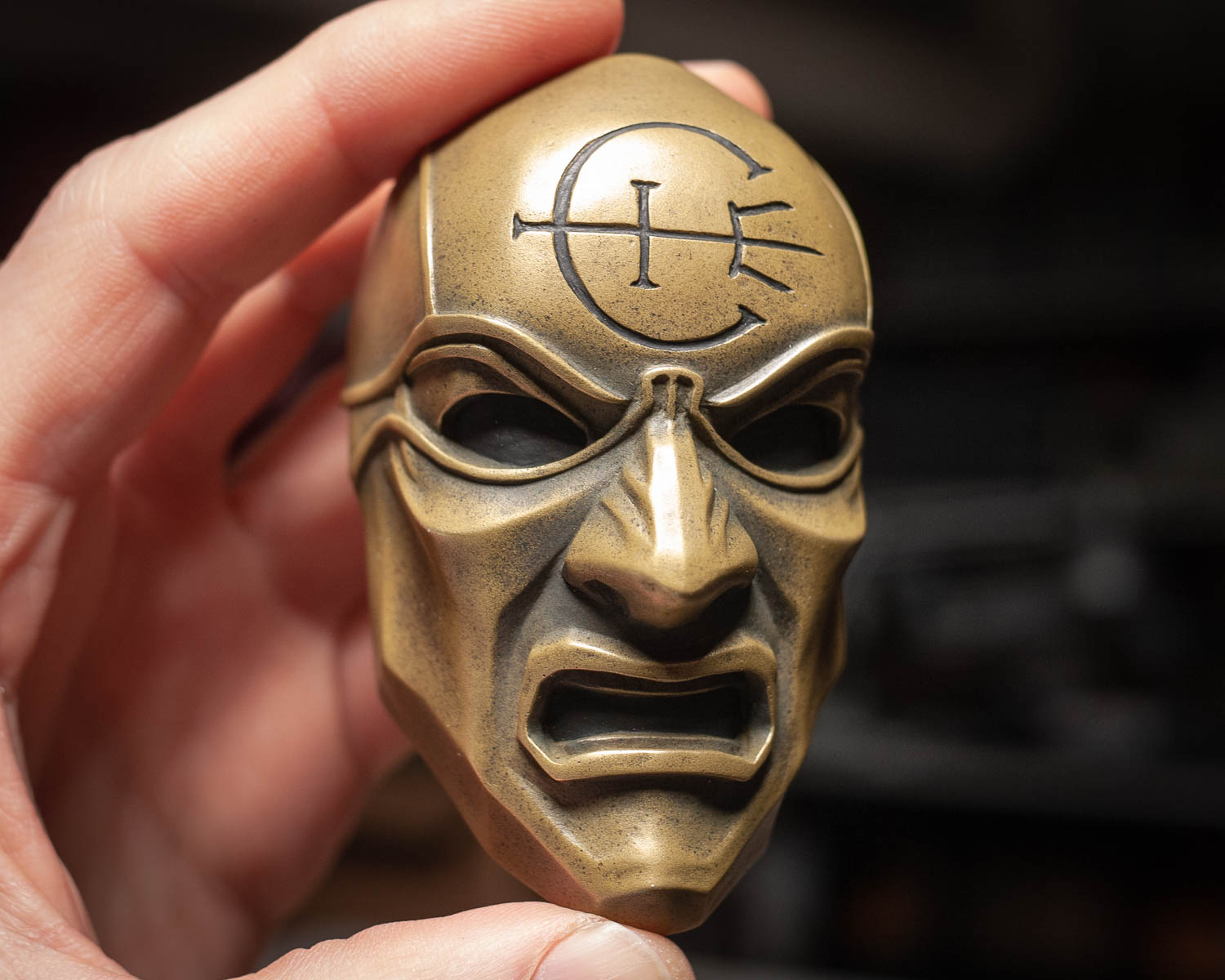 Dishonored Overseer Mini Mask Magnet
