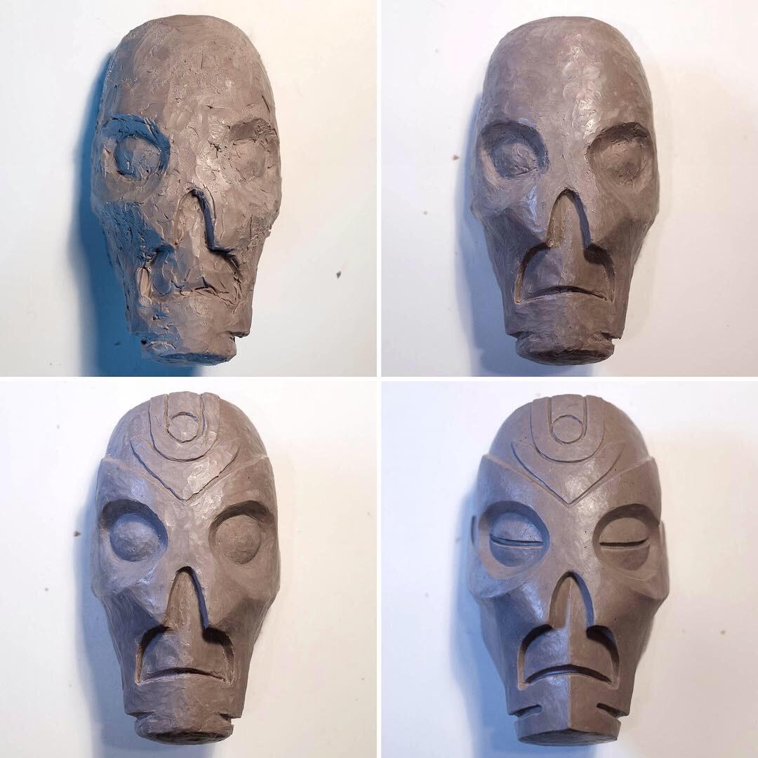skyrim-dragon-priest-magnet-sculpting-work-in-progress.JPG