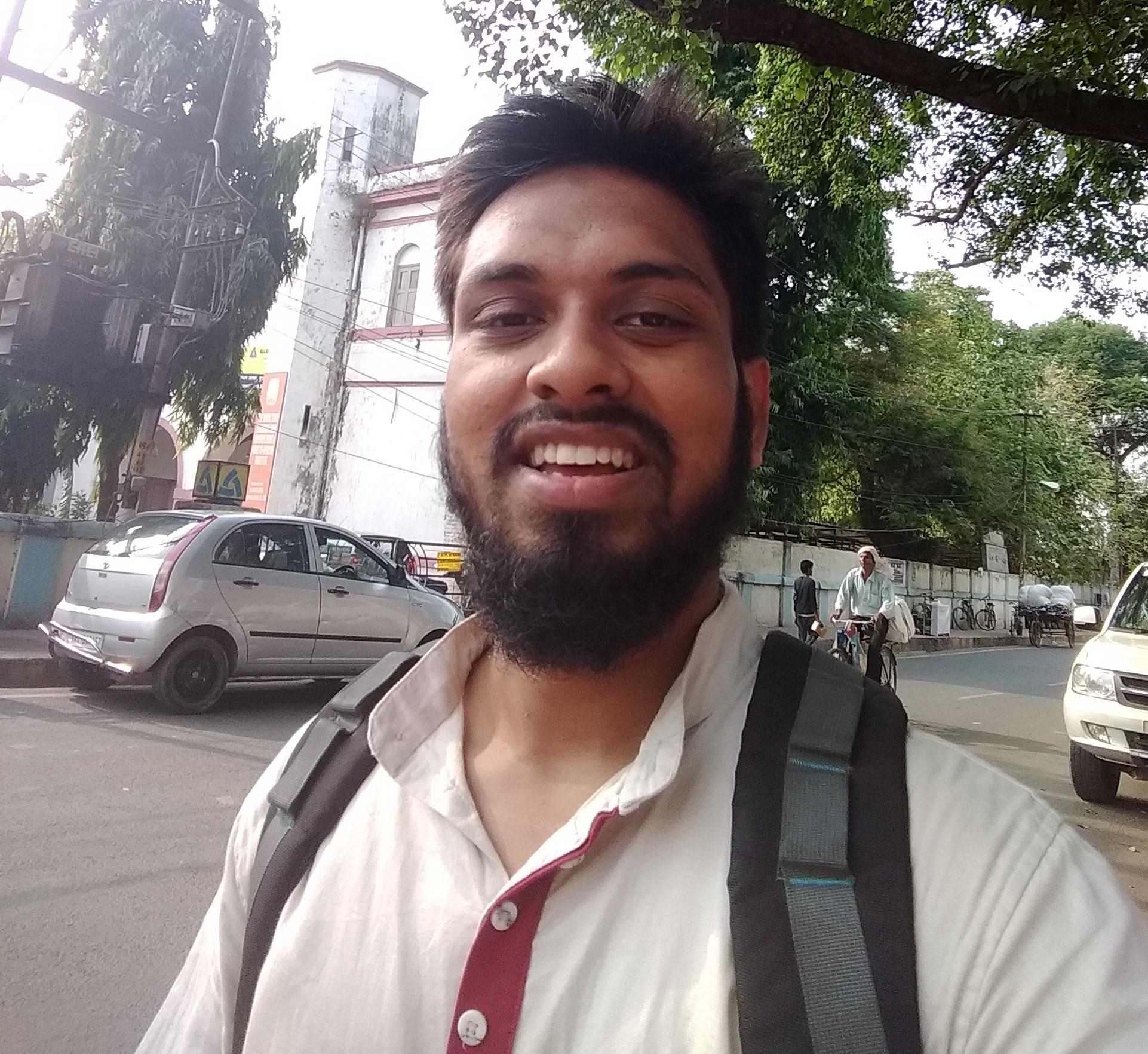 Md. Haseen Akhtar, NIT Trichy