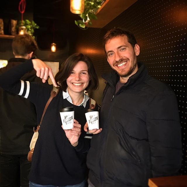 . It's a wonderful Ohanami season!! Let's grab a coffee and enjoy the sunshine :) . 真っ青な空に満開の桜、どこかに出歩きたい季節!コーヒー片手にお出かけして、思う存分太陽を楽しみましょ〜! . Such a lovely smile! Thanks @anna.wiener @i.m_nilsek :) . #Frankie #frankieshimokita #espresso #coffee #coffeestand #Melbourne #Australia #shimokitazawa #Tokyo #cafe #welovecoffee #homemade #sweets #tokyocoffee #カフェ #下北沢 #下北沢カフェ #カフェ巡り #コーヒー #エスプレッソ#オーストラリア #メルボルン #コーヒースタンド #ohanami #お花見