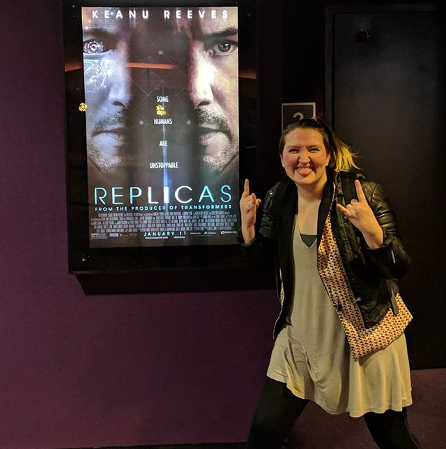 Some humans are unstoppable: me (when it comes to watching every Keanu release opening weekend), and also Keanu--WHO DIDN'T DEFY EVERY NATURAL LAW JUST TO LOSE YOU NOW.  Wowowowow. REPLICAS also defied every natural law of expectations, and it did not lose me. A masterpiece. Thank you @zackconk and @phsiple for joining me on this journey. #keanulife