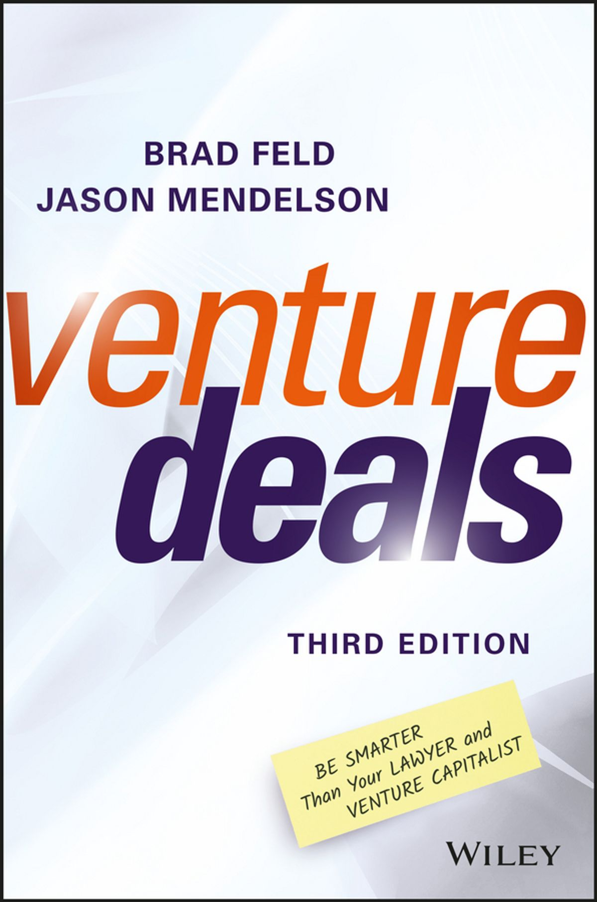 Venture Deals: Be Smarter Than Your Lawyer and Venture Capitalist - Raising venture capital is a black box for any new entrepreneur. This book by Brad Feld and Jason Mendelson walks through the key pieces of raising capital in an easy-to-understand format with great tips on how to set your company up for success.