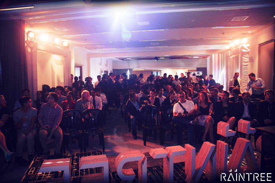 The crowd at our launch party were left mesmerised by a variety of presentations given by Friends of Raintree