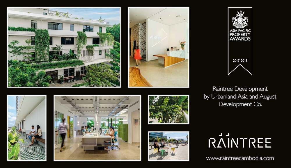 "The International Property Awards ""Wall of Fame"" feature on Raintree"