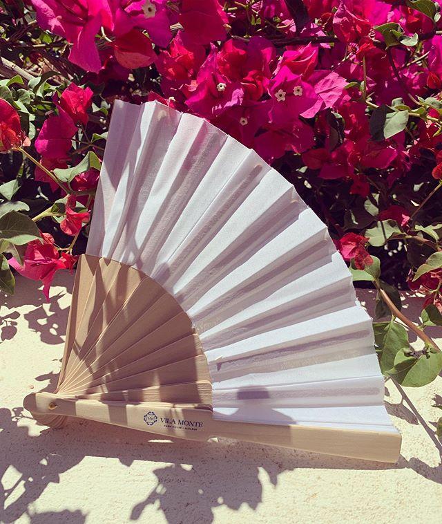 I'm a fan☀️ #wrapyourselfindreams #thesophiedk #vilamontefarmhouse #love #hotel #aminities #fan