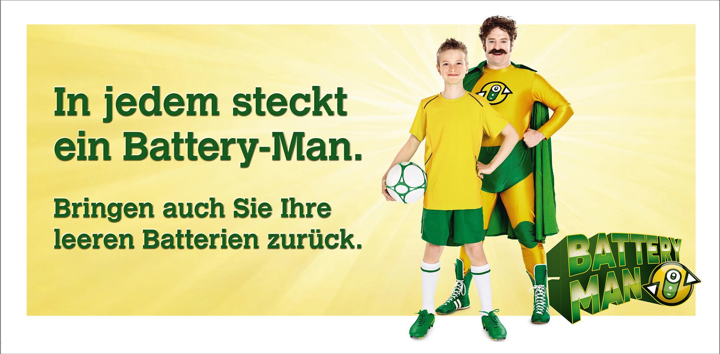 BATTERY-MAN / Kampagne Inobat