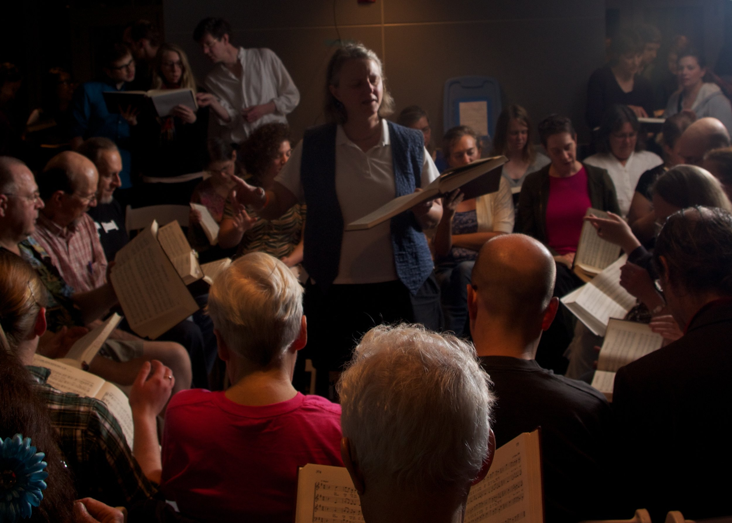 Image: Minnesota State Sacred Harp Singing Convention, Northern Spark, Flickr (Creative Commons)