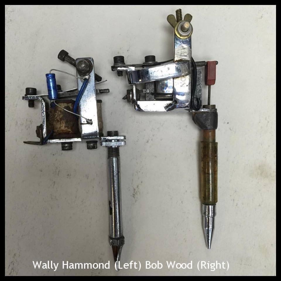 Wally Hammond (Left) Bob Wood (Right)