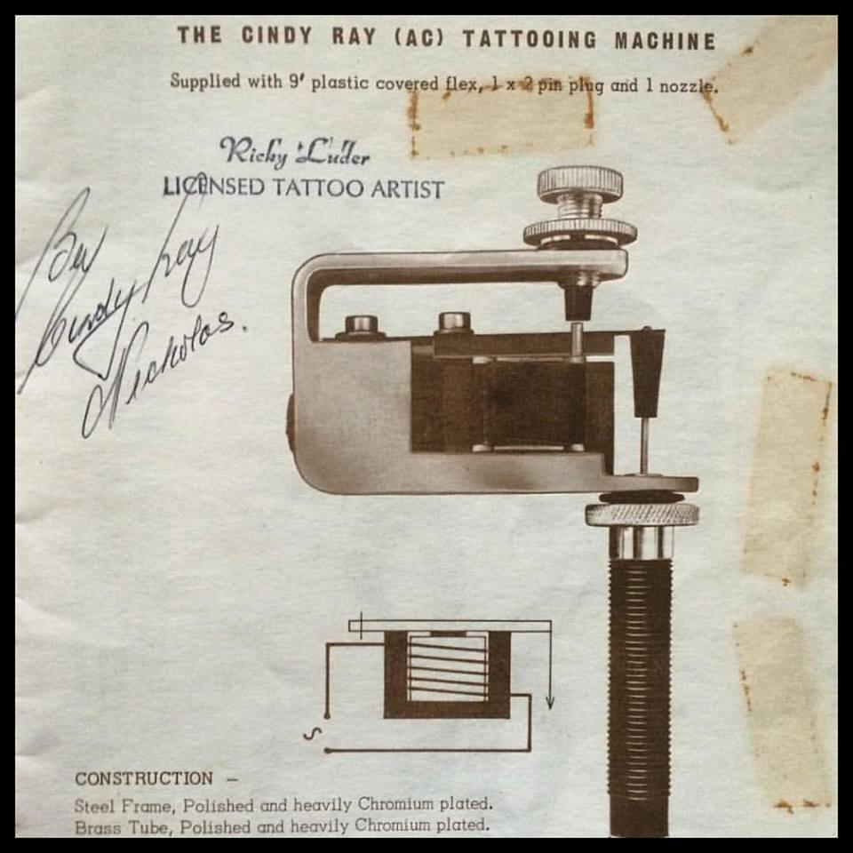 Cindy Ray Machine Advertisement