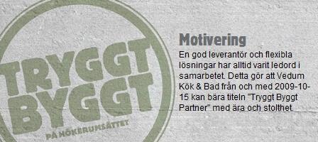 Vedum kök & bad AB, 2009-10-15