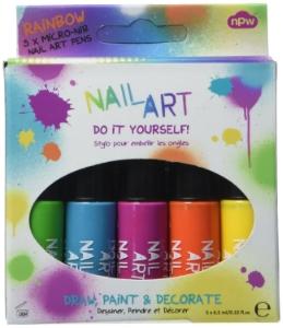 AMAZON  NAIL ART PEN - RAINBOW BRIGHTS,  £8.40