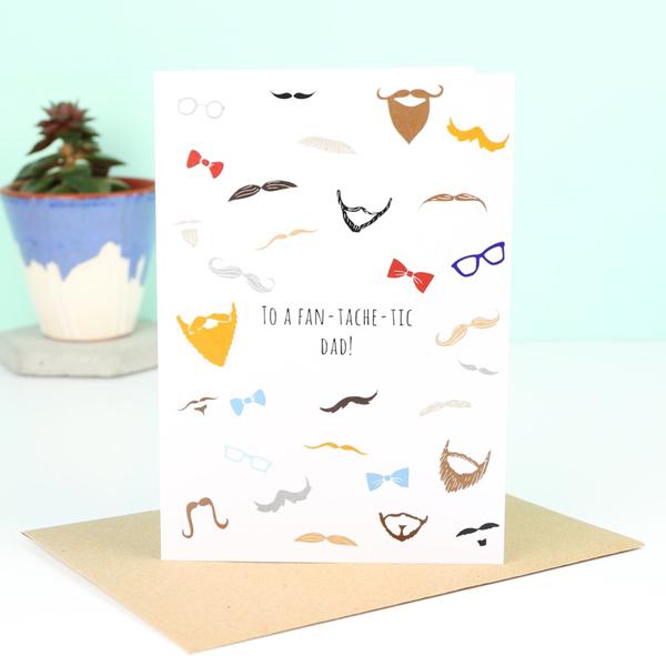 LISA ANGEL 'FAN-TACHE-TIC' FATHER'S DAY CARD , £1.50