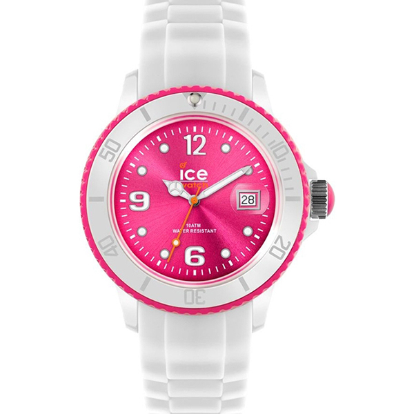 ICE-WATCH ICE-WHITE PINK WATCH , £34.99 (RRP £199)  USE DISCOUNT CODE 'SB4'