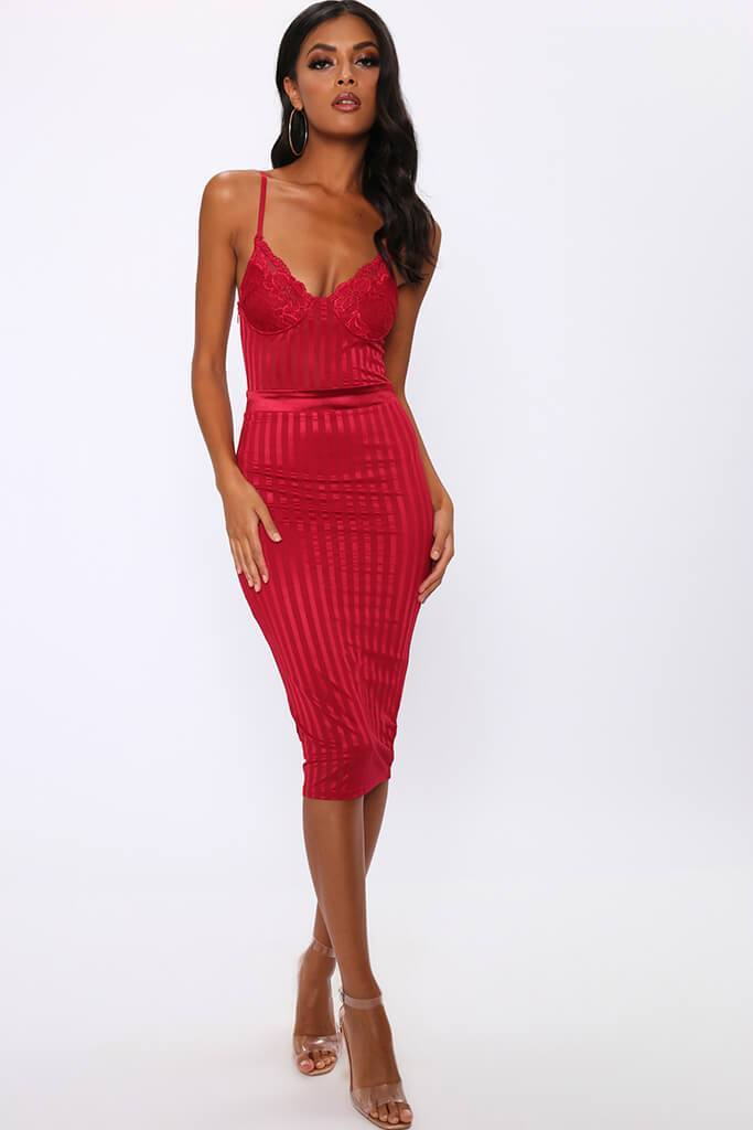 Love Island Red Dress