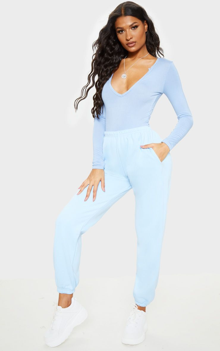 Pastel Blue Casual Jogger, £20