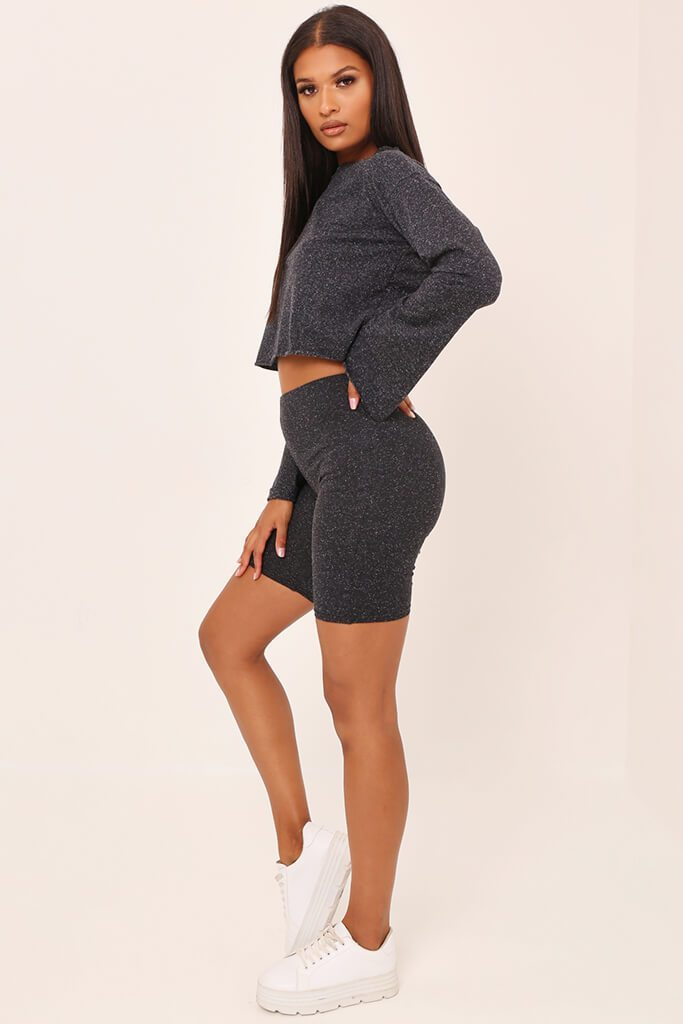 Grey Neppy High Waisted Cycling Shorts, £15