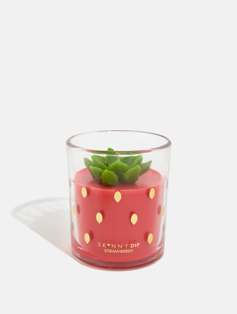 Strawberry Candle, £15