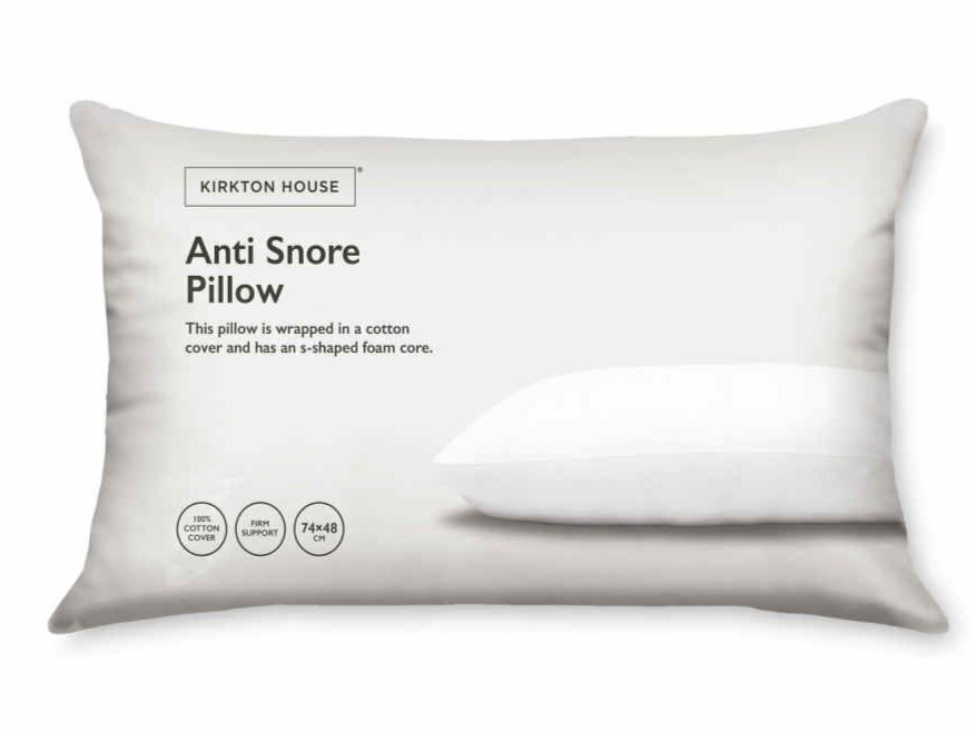 Aldi Is Selling An Anti Snore Pillow