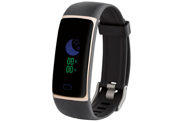 Records Steps Calories SilverCrest Activity Tracking Smartwatch Sleeping